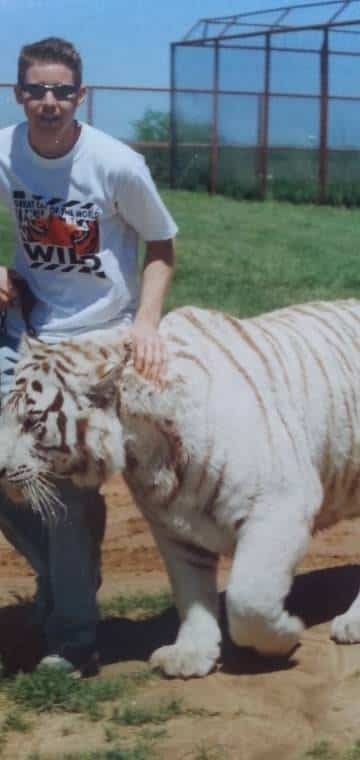 Gordon with Tiger