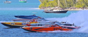 picture of boats racing